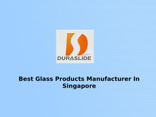 Glass Products Manufacturer.ppt