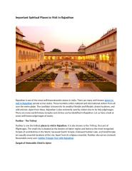 Important Spiritual places to visit in Rajasthan.docx