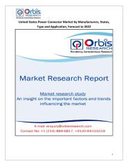 United States Power Connector Market by Manufacturers, States, Type and Application, Forecast to 2022.pdf