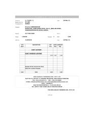 SAMPLE INVOICES.xls