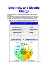 Electricity and Electric Charge.doc