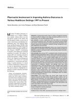 Pharmacist Involvement in Improving Asthma Outcomes in Various Healthcare Settings - 1997 to Present.pdf