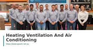 Heating Ventilation And Air Conditioning.ppt