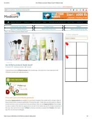 Are Oriflame products Really Good_ Oriflame India.pdf