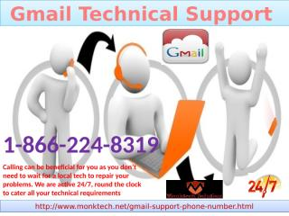 Gmail Technical Support ring on 1-866-224-8319 help to Optimize Gmail setting.pptx