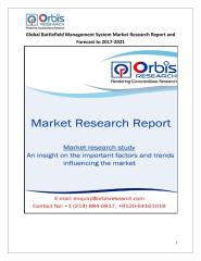 Global Battlefield Management System Market Research Report and Forecast to 2017-2021.pdf