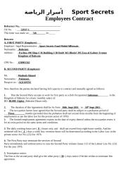 Sport Secrets Employees Contract.doc