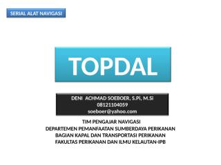 TOPDAL.ppt